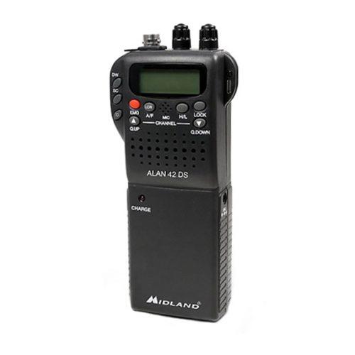 Midland 42 DS UK Handheld CB Radio with Digital Squelch
