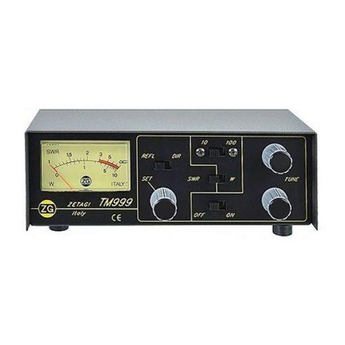Zetagi TM999 SWR / PWR Meter with Antenna Matcher