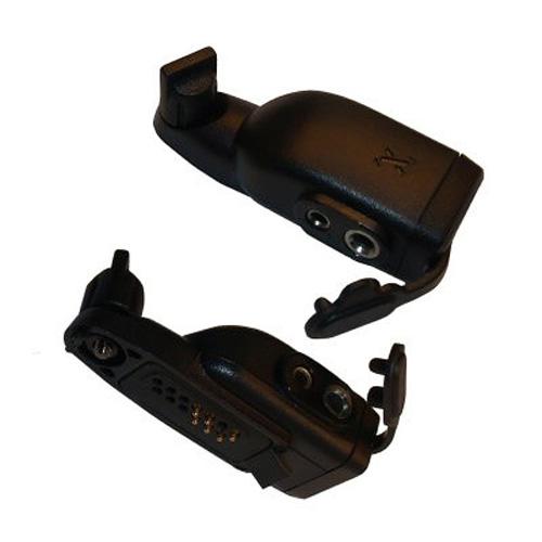 Motorola GP344 / 388 to 2-Jack 3.5 mm / 2.5 mm GP300 Type Audio Accessory Adapter
