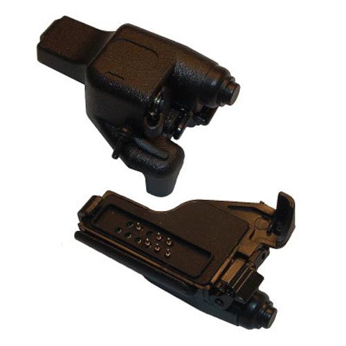 Motorola GP900 / HT1000 / XTS to Visar 3.5 mm Threaded Plug Type Audio Accessory Adapter