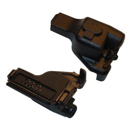 Motorola GP900 / HT1000 to 2-Jack 3.5 mm / 2.5 mm GP300 Type Audio Accessory Adapter