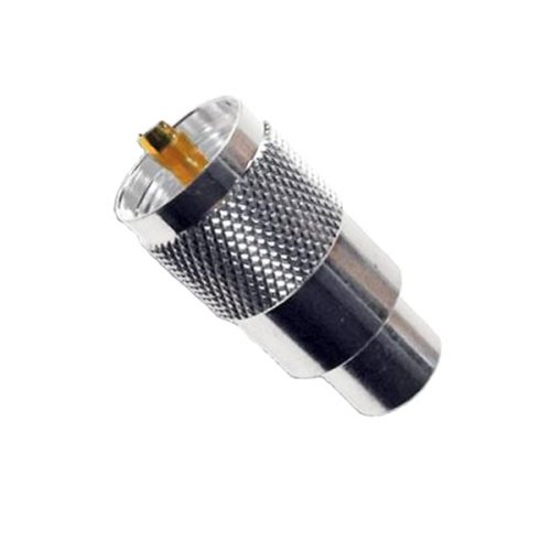 PL259 (Superior) Plugs with Gold Tips 6, 7, 9 mm Versions