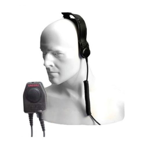 Entel CXR5/DT9 Bone Conductive Skull Microphone, Earpiece, c/w PTT-C/DT9