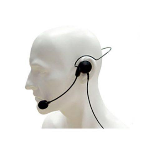 Entel CHP1/750 Lightweight Single Earpiece Headset with In-Line PTT